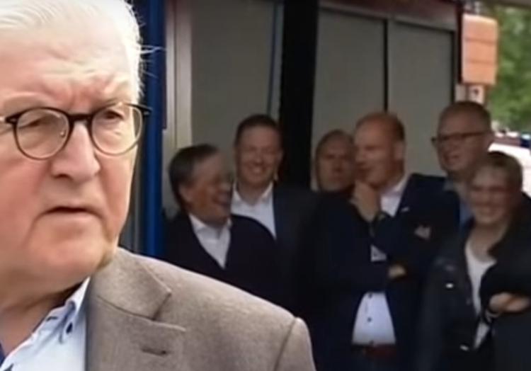 Lachender Armin Laschet in Erftstadt am 17.07.2021, über dts Nachrichtenagentur