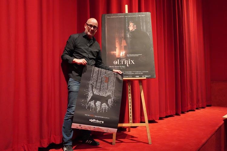 Filmfest-Leiter Torsten Neumann stellte im Casablanca Kino erste Programmpunkte und Filme vor. Das 28. Internationale Filmfest Oldenburg läuft vom 15. bis 19. September.