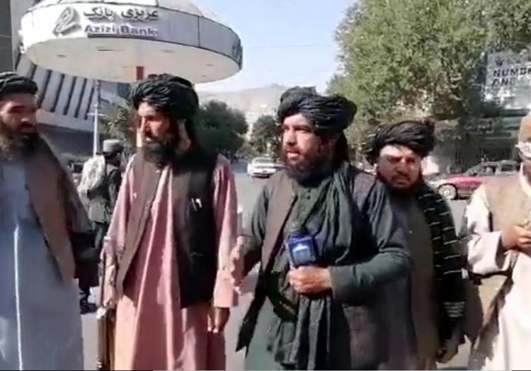 Taliban in den Straßen von Kabul, über dts Nachrichtenagentur