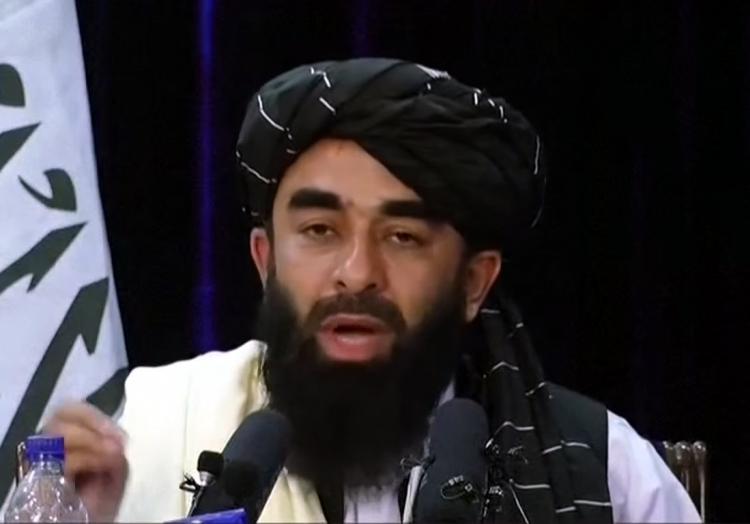 Zabiullah Mujahid am 17.08.2021, über dts Nachrichtenagentur