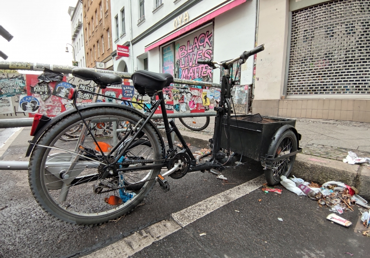 Lastenfahrrad in Berlin-Kreuzberg, über dts Nachrichtenagentur