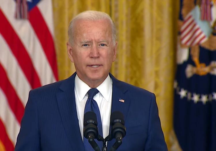 Joe Biden am 26.08.2021, über dts Nachrichtenagentur