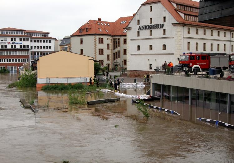 Hochwasser in Sachsen-Anhalt, über dts Nachrichtenagentur