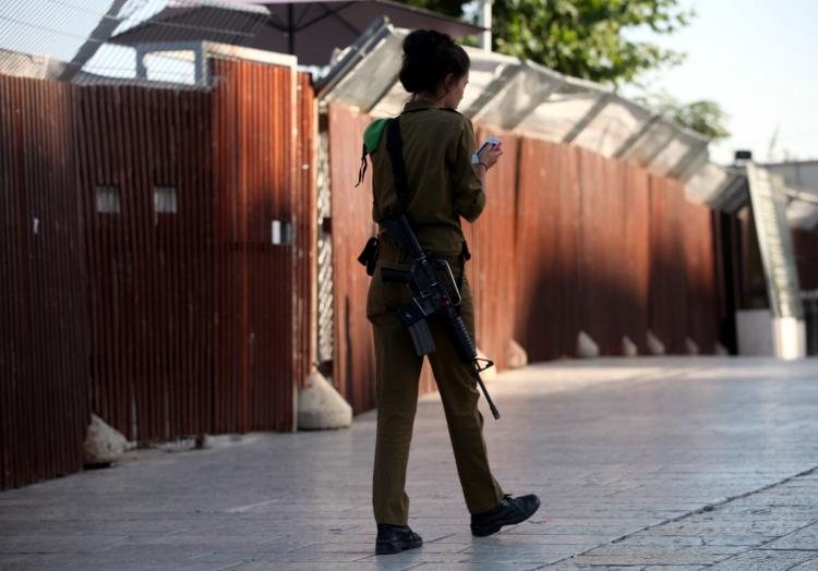 Israelische Soldatin, über dts Nachrichtenagentur