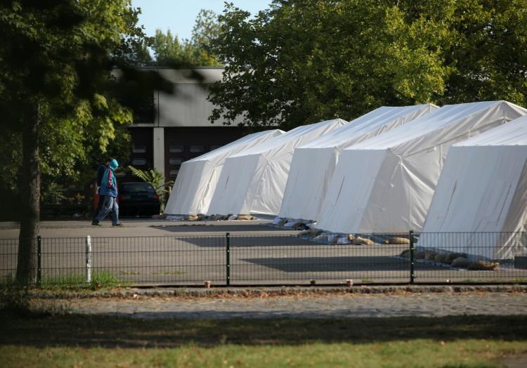 Flüchtlinge in einer ´Zeltstadt´, über dts Nachrichtenagentur