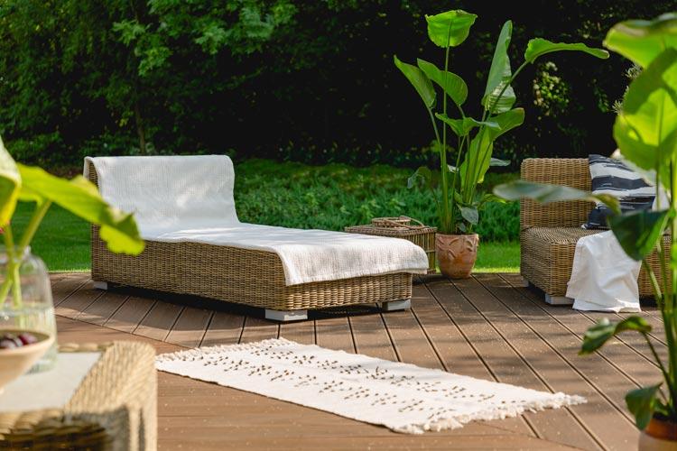 Innovative Garten- und Terrassengestaltung geht meist Hand in Hand.