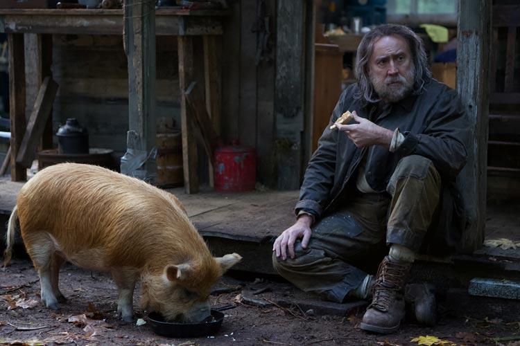"""Nicholas Cage spielt in """"Pig"""" einen Trüffelschwein-Besitzer. Der US-Film von Michael Sarnowski läuft beim Filmfest-Oldenburg als Deutschland-Premiere."""