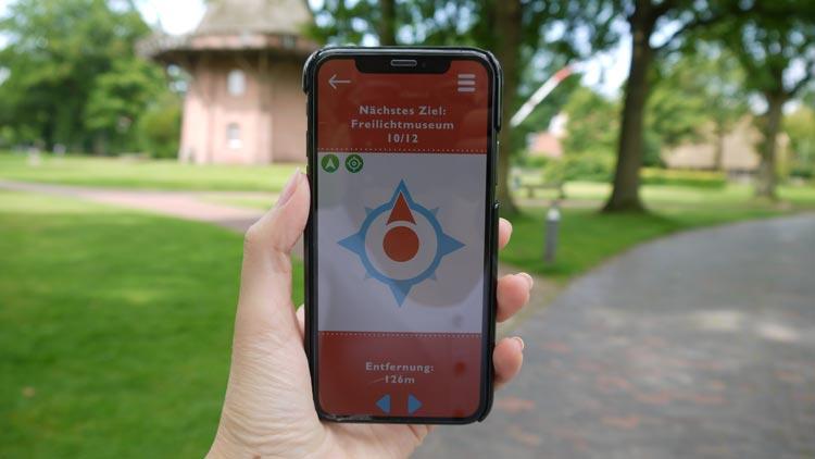 Mit der Wunderline GO-App können Nutzer Bad Zwischenahn und 14 weitere Orte ganz neu entdecken.