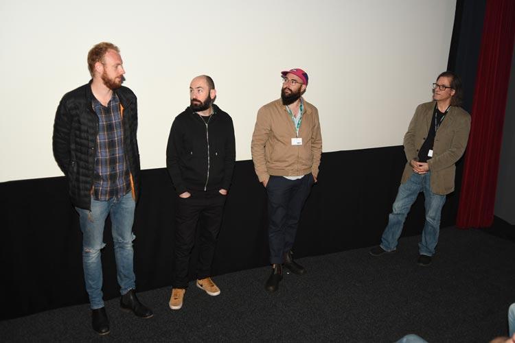 """Das Team des englischen Films """"A Brixton Tale"""" stellte seinen Film in Oldenburg als Deutschlandpremiere vor."""