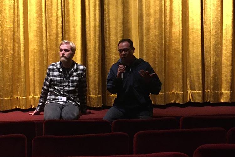 Ein Freund des Regieteams aus Myanmar war zur Weltpremiere im Casablanca Kino zu Gast und berichtete über die Lebenssituation seiner Freunde und die Dreharbeiten zu dem Film.