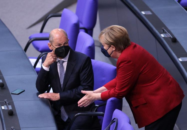 Olaf Scholz und Angela Merkel, über dts Nachrichtenagentur