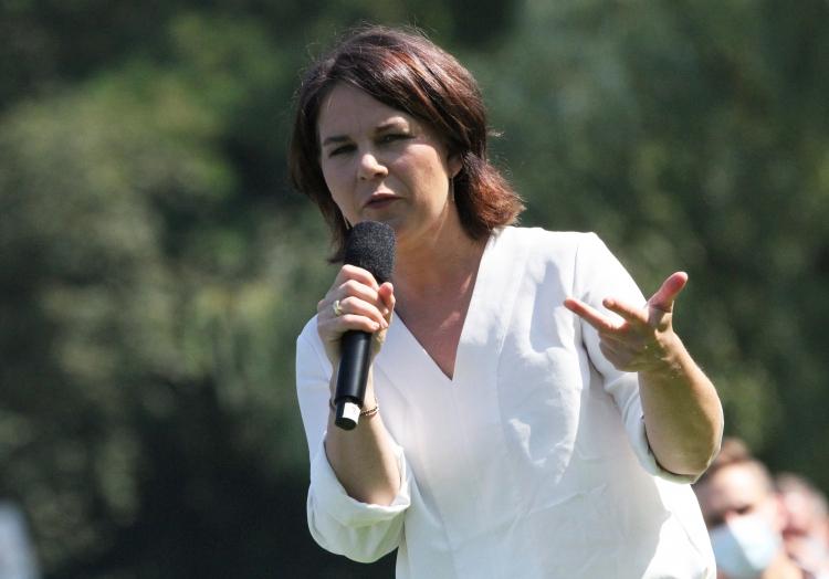 Annalena Baerbock in dieser Woche im Wahlkampf, über dts Nachrichtenagentur