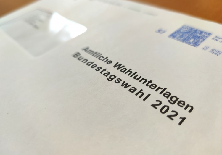 Briefwahlunterlagen zur Bundestagswahl 2021, über dts Nachrichtenagentur