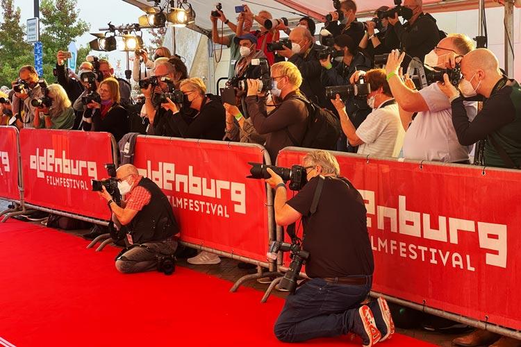 Filmfest Eröffnungs-Gala in Oldenburg.