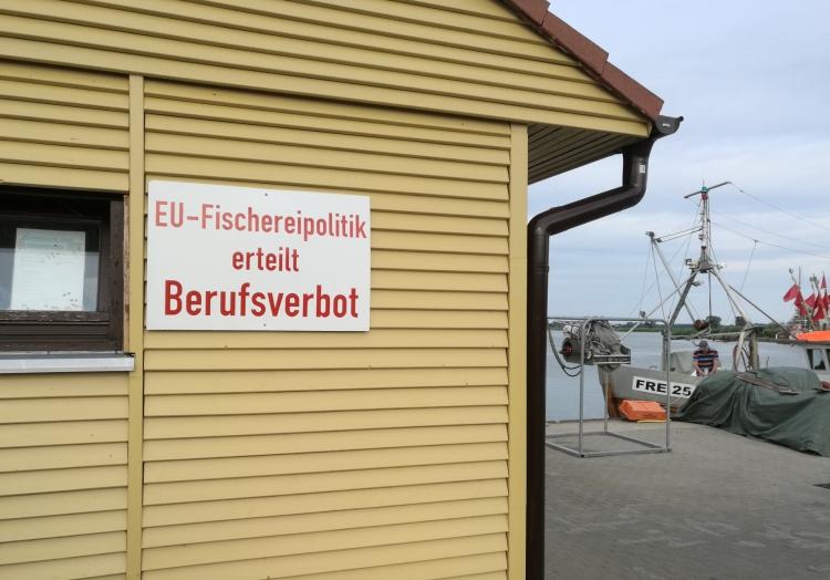 Fischer protestieren gegen die EU, über dts Nachrichtenagentur