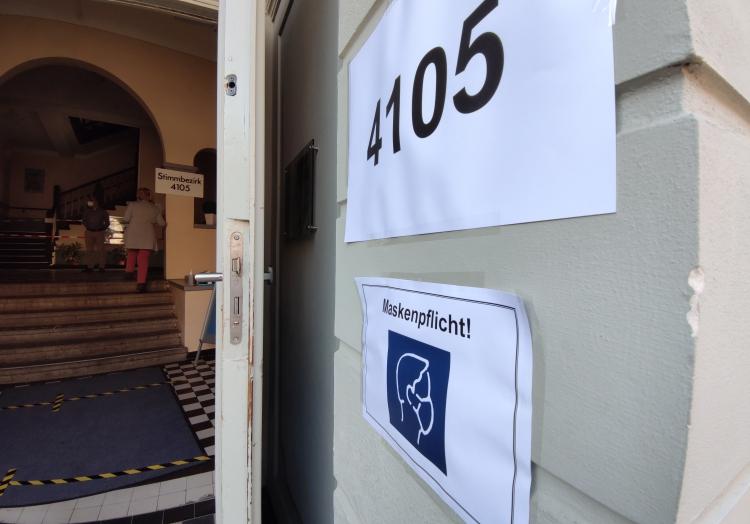Wahllokal am 26.09.2021, über dts Nachrichtenagentur