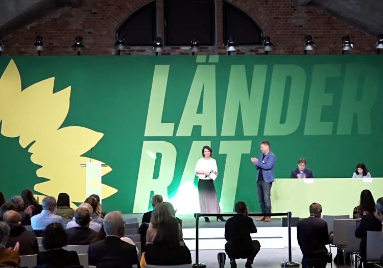 Kleiner Grünen-Parteitag am 02.10.2021, über dts Nachrichtenagentur
