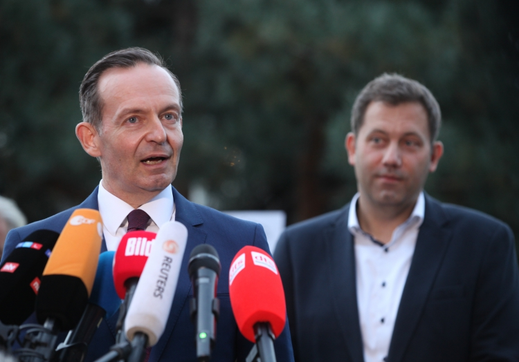 Sondierungsgespräche SPD/FDP am 03.10.2021, über dts Nachrichtenagentur