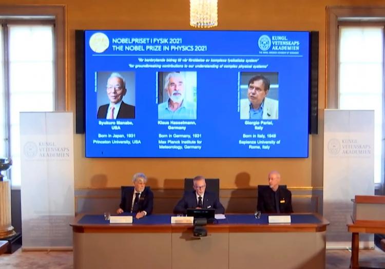 Bekanntgabe Physik-Nobelpreis am 05.10.2024, über dts Nachrichtenagentur