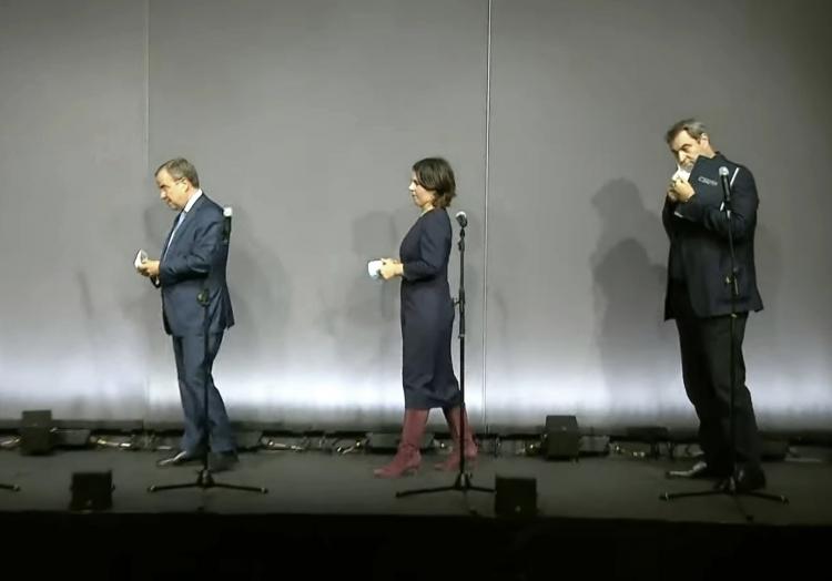 Vorsondierung von Union und Grünen am 05.10.2021, über dts Nachrichtenagentur