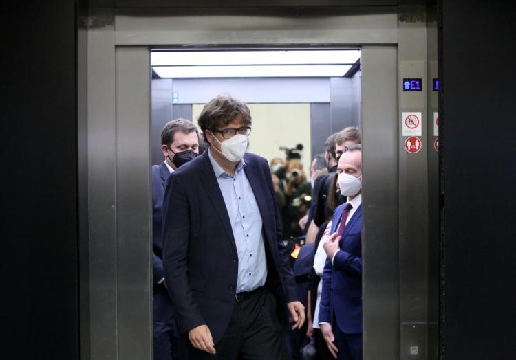 Nach den Sondierungen von SPD, Grünen und FDP am 07.10.2021, über dts Nachrichtenagentur