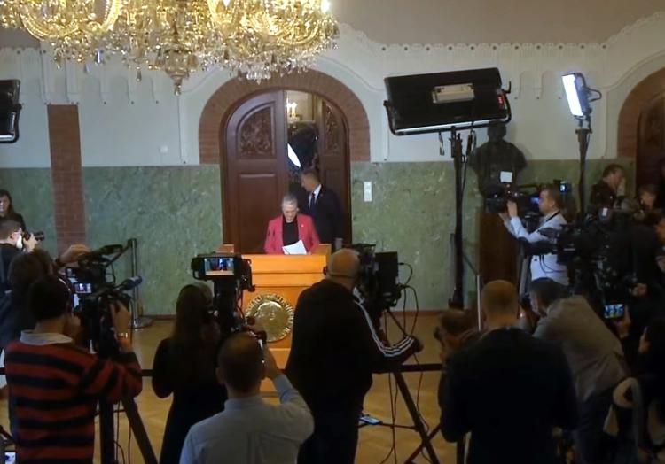 Bekanntgabe Friedensnobelpreis 08.10.2021, über dts Nachrichtenagentur